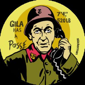 Gila has a posse